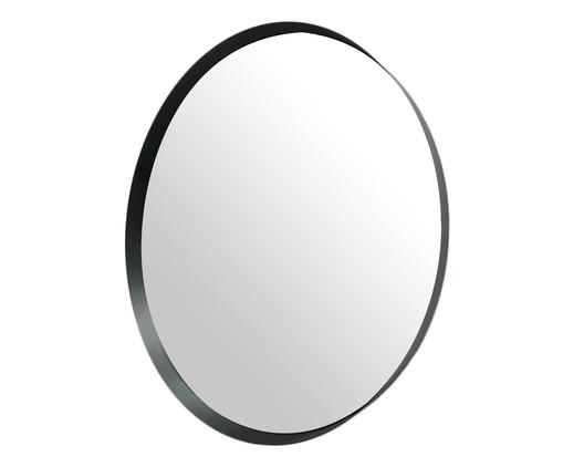 Espelho Round Special - Preto, Preto | WestwingNow