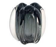 Vaso em Cristal Liora - Cinza | WestwingNow