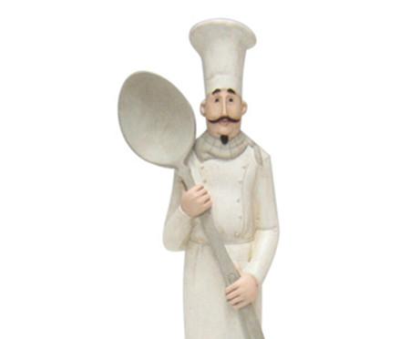 Escultura em Resina Cozinheiro Colher   WestwingNow