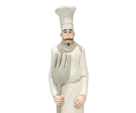 Escultura em Resina Cozinheiro Garfo | WestwingNow