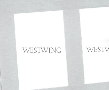 Porta-Retrato Laura - Branco | WestwingNow