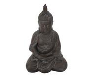Escultura em Resina Buddha Cemil - Marrom   WestwingNow