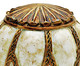 Esfera Decorativa em Resina Iago, Branco,Bronze | WestwingNow