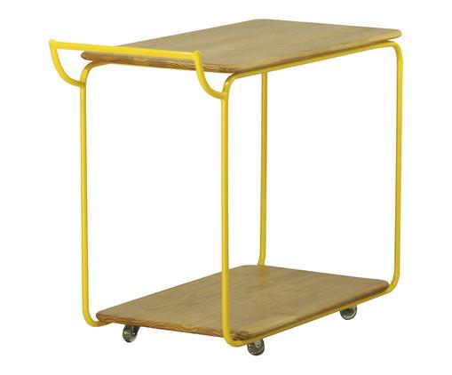 Carrinho de Bar Flerte - Amarelo, Amarelo, Colorido | WestwingNow