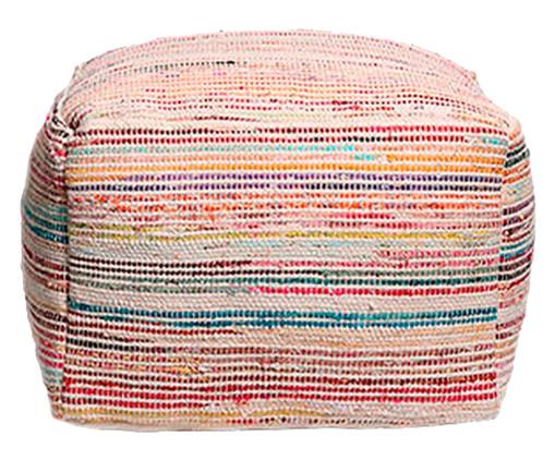 Pufe Fili - Multicolor, BRANCO | WestwingNow