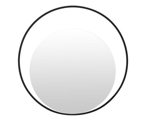 Espelho Gentire - Preto, Preto | WestwingNow