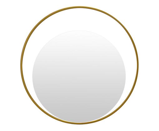 Espelho de Parede Redondo de Metal Gentire Dourado - 30cm, Dourado | WestwingNow