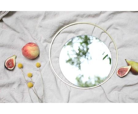 Espelho de Parede Redondo de Metal Gentire - Dourado | WestwingNow