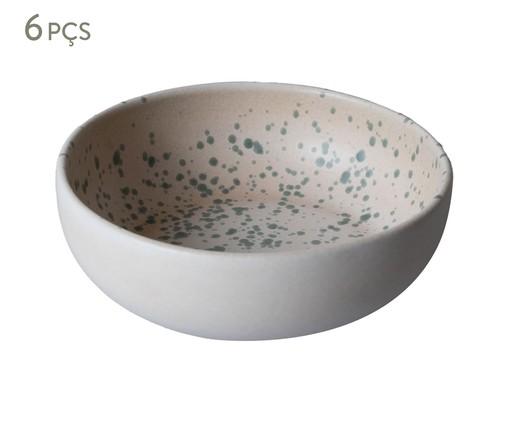 Jogo de Bowls Argila, Rosa,Verde | WestwingNow