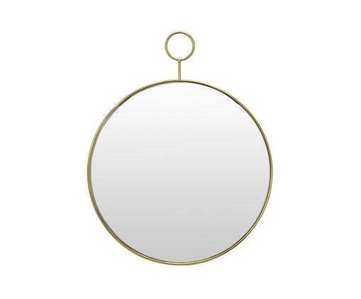 Espelho de Parede Milagro - Dourado, Dourado | WestwingNow