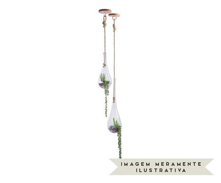 Terráreo Nest Clear Castanho ll - 130X15cm | WestwingNow