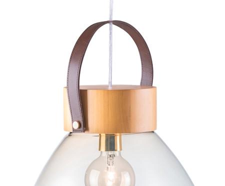 Pendente Lampadari Transparente Natural Bivolt - 130X39cm | WestwingNow