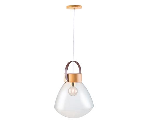 Pendente Lampadari Transparente Natural Bivolt - 130X39cm, Natural | WestwingNow