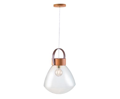 Pendente Lampadari Transparente Castanho Bivolt - 130X39cm, Castanho | WestwingNow