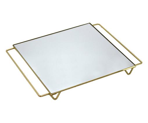 Bandeja Decorativa Tal - Dourada, Dourado, Espelhado | WestwingNow