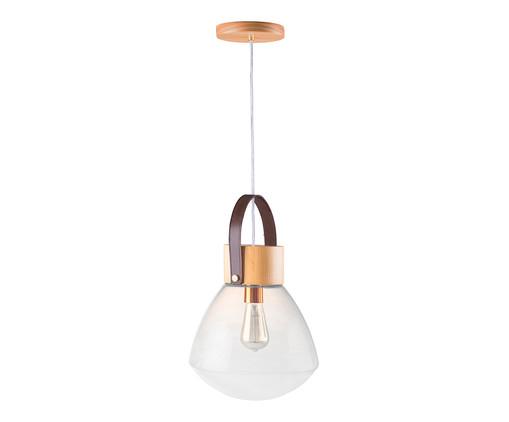 Pendente Lampadari Transparente Natural Bivolt - 130X29cm, Natural | WestwingNow