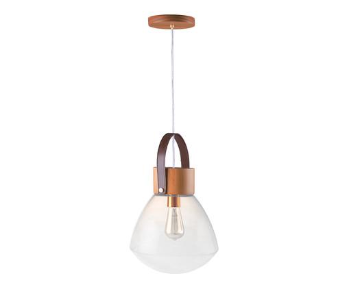 Pendente Lampadari Transparente Castanho Bivolt - 130X29cm, Castanho | WestwingNow
