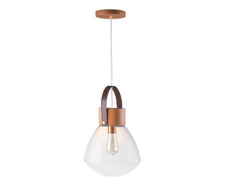 Pendente Lampadari Transparente Castanho Bivolt - 130X29cm | WestwingNow