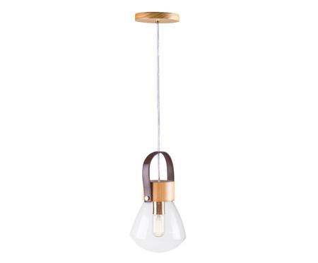 Pendente Lampadari Transparente Natural Bivolt - 130X19cm | WestwingNow