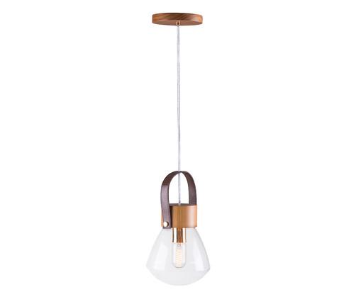Pendente Lampadari Transparente Castanho Bivolt - 130X19cm, Castanho | WestwingNow