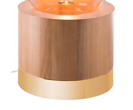 Luminária de Mesa Lampadari Casey Castanho Bivolt - 60X39cm   WestwingNow