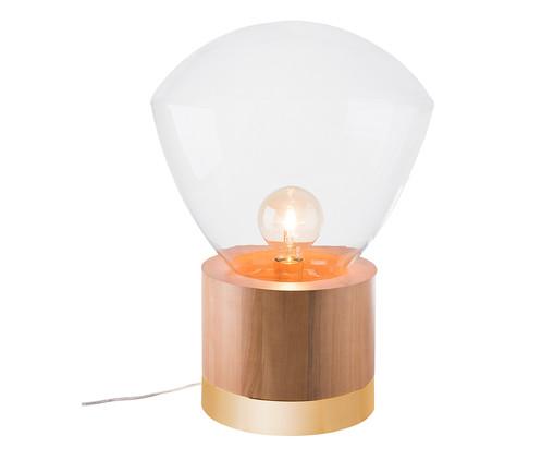 Luminária de Mesa Lampadari Casey Castanho Bivolt - 60X39cm, Castanho | WestwingNow