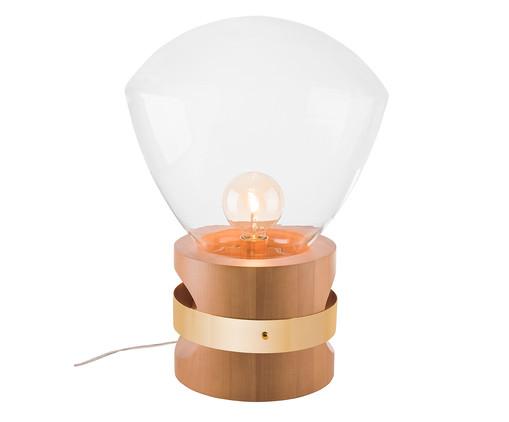 Luminária de Mesa Lampadari Rubic Castanho Bivolt - 60X39cm, Castanho | WestwingNow