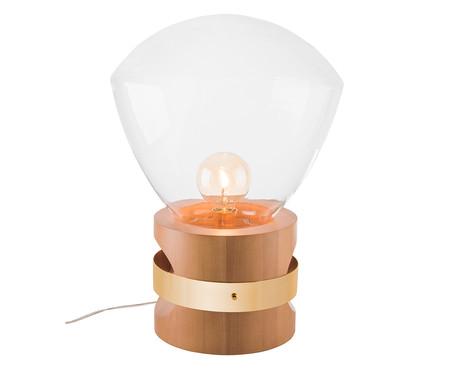 Luminária de Mesa Lampadari Rubic Castanho Bivolt - 60X39cm   WestwingNow