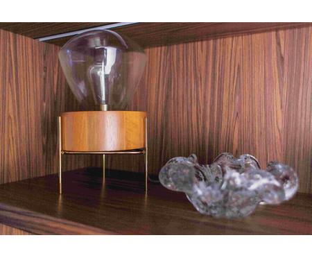 Luminária de Mesa Lampadari Nux Castanho Bivolt - 36X21cm | WestwingNow
