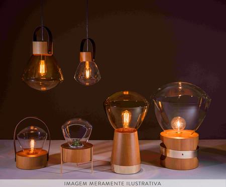 Luminária de Mesa Lampadari Castanho Bivolt - 29X20cm | WestwingNow