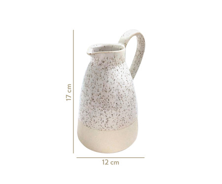Vaso em Cerâmica Perla - Branco | WestwingNow