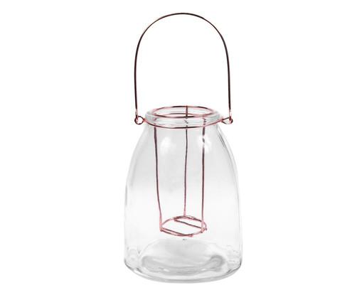 Lanterna em Vidro Trevis, Bronze,Transparente | WestwingNow