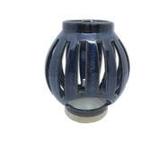 Lanterna em Cerâmica Azul Escuro Mirela - 12,7cm | WestwingNow