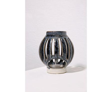 Lanterna em Cerâmica Mirela - Azul   WestwingNow