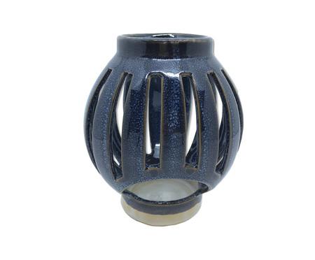 Lanterna em Cerâmica Mirela - Azul | WestwingNow