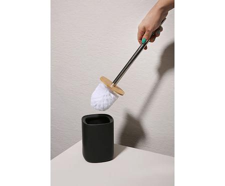Escova Sanitária em Cerâmica Buoro - Preto | WestwingNow