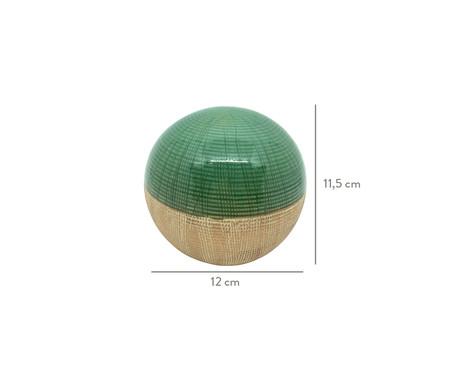 Esfera Decorativa em Cerâmica Lopez l - Verde | WestwingNow