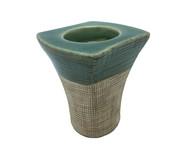 Porta-Vela em Cerâmica Lopez - 7,9X9,5X8,2cm | WestwingNow