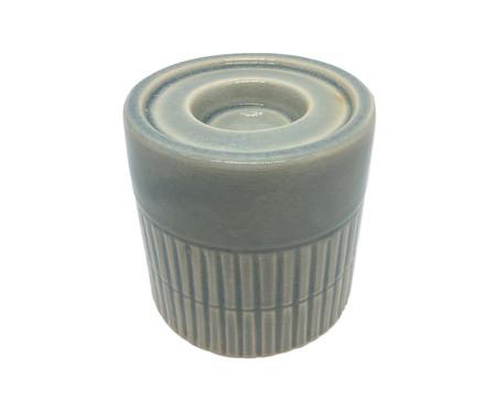 Porta-Vela em Cerâmica Perez - 10X10,1cm | WestwingNow