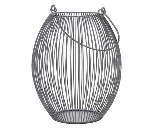 Lanterna em Ferro Regis l - Cinza, Cinza | WestwingNow