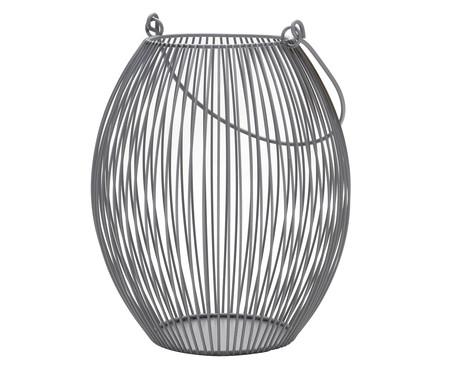 Lanterna em Ferro Regis l - Cinza | WestwingNow