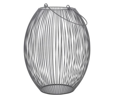 Lanterna em Ferro Regisll - Cinza   WestwingNow
