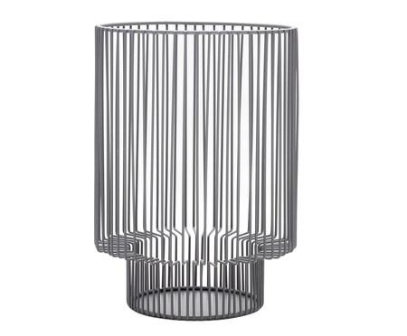 Lanterna em Ferro Martinez - Cinza | WestwingNow