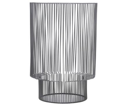 Lanterna em Ferro Rodriguez- Cinza | WestwingNow