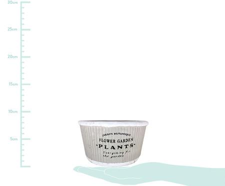 Cachepot Pottery Cinza - 14,5cm | WestwingNow