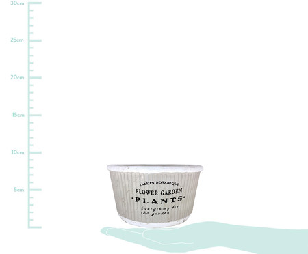 Cachepot Pottery ll - Cinza   WestwingNow