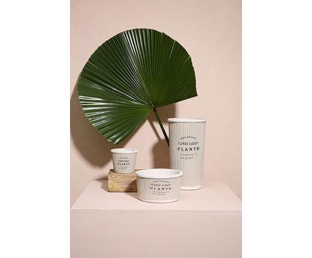 Cachepot Pottery l - Cinza | WestwingNow