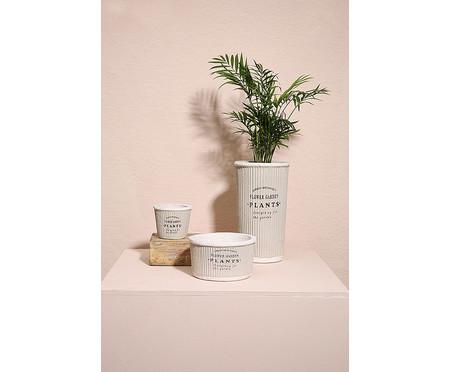 Cachepot Pottery l - Cinza   WestwingNow