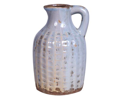 Jarra em Cerâmica Cinza Deise - 14cm, Cinza | WestwingNow