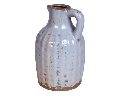 Jarra em Cerâmica Cinza Deise - 14cm | WestwingNow